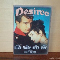 Cine: DESIREE - MARLON BRANDO - JEAN SIMMONS - DIRIGIDA POR HENRY KOSTER - DVD. Lote 55862178