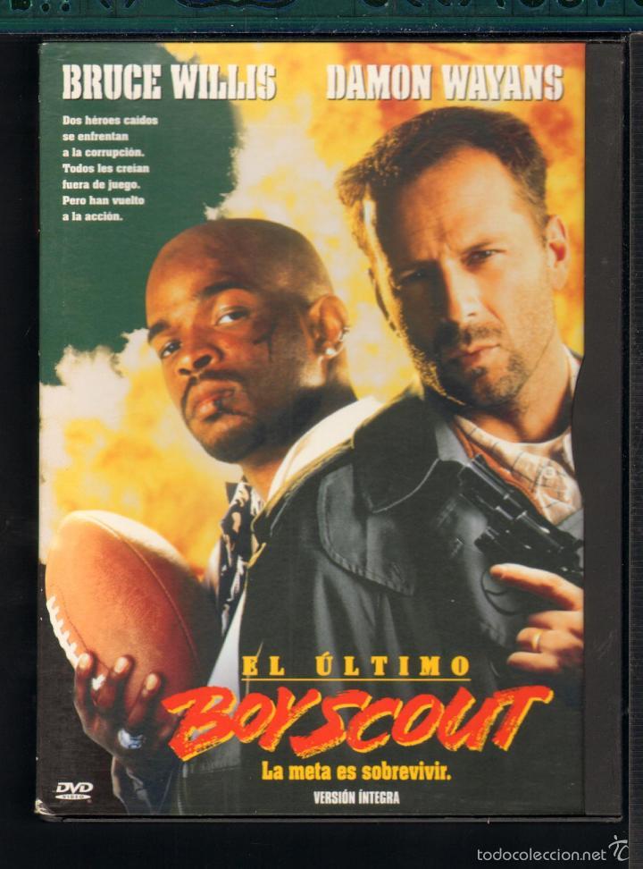 2c2dc4e74531a CINE GOYO - DVD - EL ULTIMO BOYSCOUT - BRUCE WILLIS - DAMON WAYANS -   EE99