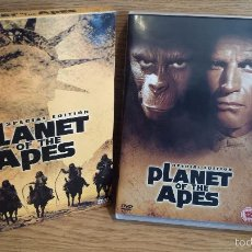 Cine: PLANET OF THE APES. SPECIAL EDITION. DOBLE DVD (INGLÉS) CALIDAD LUJO.. Lote 55917167