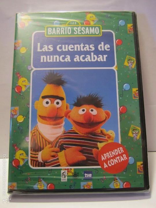 Dvd Barrio Sesamo Las Cuentas De Nunca Acabar A Comprar Películas En Dvd En Todocoleccion 202995616