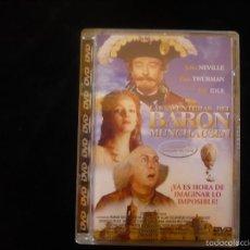 Cine: LAS AVENTURAS DEL BARON MUNCHAUSEN (DVD COMO NUEVO). Lote 56006869