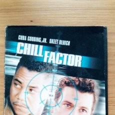 Cine: DVD CINE ACCIÓN CHILL FACTOR CON CUBA GODDING, JR. Y SKEET ULRICH. Lote 56017381