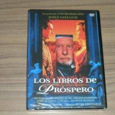 Cinéma: LOS LIBROS DE PROSPERO DVD JOHN GIELGUD NUEVA PRECINTADA. Lote 262720145
