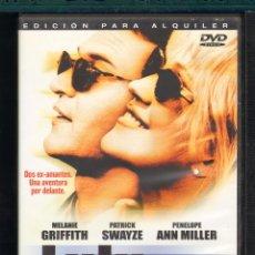 Cine: CINE GOYO - DVD - LULU FOREVER - PATRICK SWAYZE (GHOST) - MELANIE GRIFFITH (ARMAS DE MUJER) *DD99. Lote 44426227