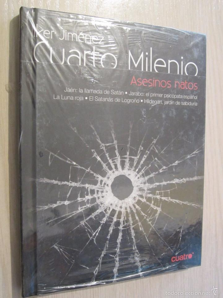 CUARTO MILENIO VOL.1 Nº 24 ASESINOS NATOS (LIBRO DVD)