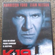 Cine: DVD -- K-19, THE WIDOWMAKER -- HARRISON FORD / LIAM NEESON --. Lote 56211239