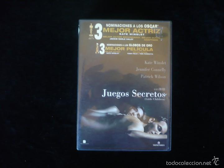 Juegos Secretos Comprar Peliculas En Dvd En Todocoleccion 110729971