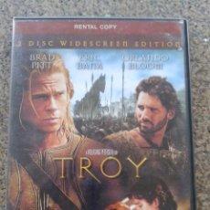 Cine: DVD -- TROY -- TROYA -- EDICION INGLESA - 2 DISCOS -- PROCEDE DE VIODE CLUB -- . Lote 56263053