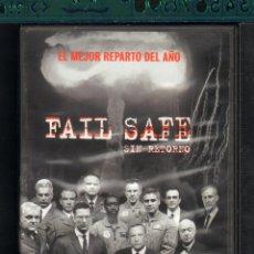 Cine: CINE GOYO - DVD - FAIL SAFE SIN RETORNO GUERRA NUCLEAR - CLOONEY - CHEADLE - KEITEL - DIEHL - *AA98. Lote 56265618