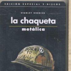 Cine: LA CHAQUETA METALICA DVD (CAJA METALICA +2 DISCOS): UN TRABAJO INSUPERABLE DE STANLEY KUBRICK. Lote 151721258