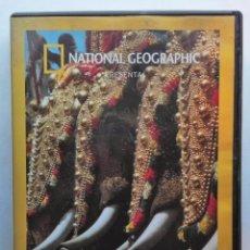 Cinema: DVD NATIONAL GEOGRAPHIC INDIA DEL SUR UN MUNDO DE SENSACIONES. Lote 56375782