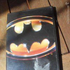 Cine: BATMAN 1989 TIM BURTON DVD. PELICULA. CASTELLANO.MICHAEL KEATON JACK NICHOLSON. Lote 56389368