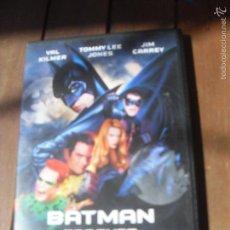 Cine: BATMAN FOREVER DVD. PELICULA. CASTELLANO VAL KILMER TOMMY LEE JONES JIM CARREY NICOLE KIDMAN. Lote 56389384