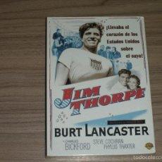 Cine: JIM THORPE DVD BURT LANCASTER NUEVA PRECINTADA. Lote 211574762