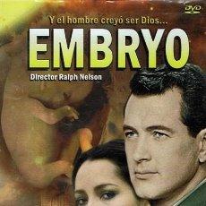 Cine: DVD EMBRYO BARBARA CARRERA & ROD HUDSON . Lote 56482479