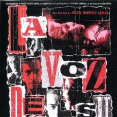 Cine: LA VOZ DE SU AMO DVD. Lote 56565009