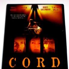 Cine: CORD (ATADA) - SIDNEY J. FURIE DARYL HANNAH JENNIFER TILLY VINCENT GALLO DVD DESCATALOGADA. Lote 56569015