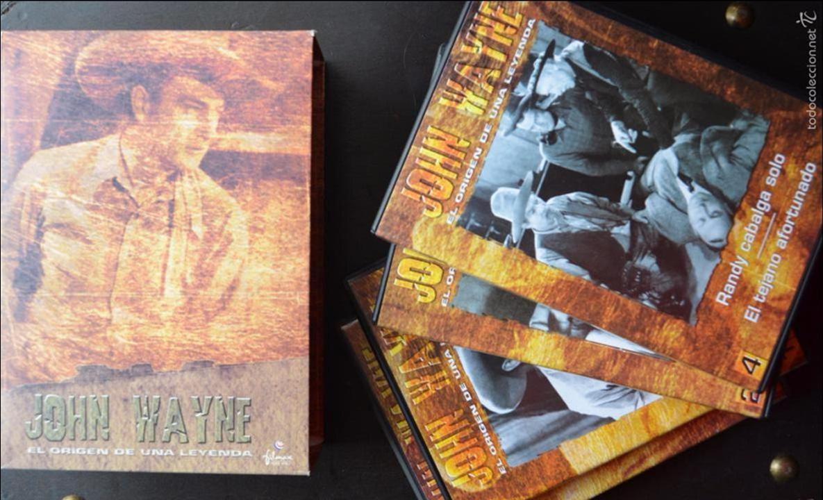 JOHN WAYNE - EL ORIGEN DE UNA LEYENDA - PAC DE 4 DVD - 9 PELICULAS (Cine - Películas - DVD)