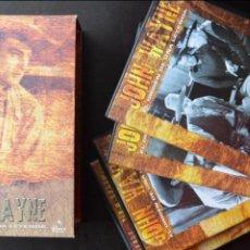 Cine: JOHN WAYNE - EL ORIGEN DE UNA LEYENDA - PAC DE 4 DVD - 9 PELICULAS. Lote 56574334