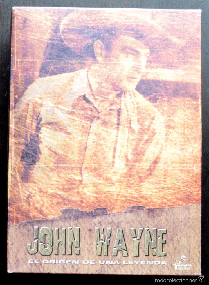 Cine: JOHN WAYNE - EL ORIGEN DE UNA LEYENDA - PAC DE 4 DVD - 9 PELICULAS - Foto 2 - 56574334