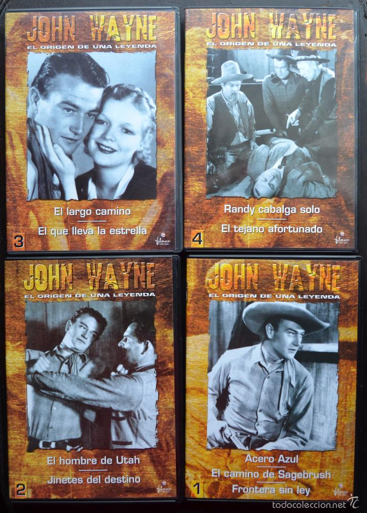 Cine: JOHN WAYNE - EL ORIGEN DE UNA LEYENDA - PAC DE 4 DVD - 9 PELICULAS - Foto 3 - 56574334