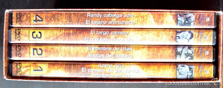 Cine: JOHN WAYNE - EL ORIGEN DE UNA LEYENDA - PAC DE 4 DVD - 9 PELICULAS - Foto 4 - 56574334
