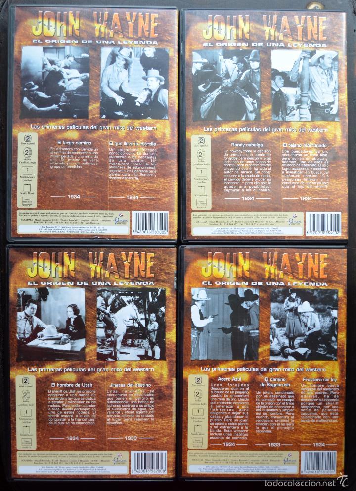 Cine: JOHN WAYNE - EL ORIGEN DE UNA LEYENDA - PAC DE 4 DVD - 9 PELICULAS - Foto 5 - 56574334