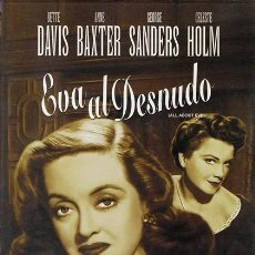 Cine: DVD EVA AL DESNUDO BETTE DAVIS. Lote 56590932