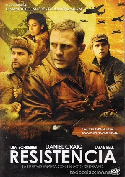 DVD RESISTENCIA DANIEL CRAIG (Cine - Películas - DVD)