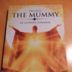 Cine: THE MUMMY. LA MOMIA. TRILOGIA. ESTUCHE METALICO CON 3 DVD'S: LA MOMIA. EL REGRESO DE LA MOMIA. EL RE. Lote 56626617