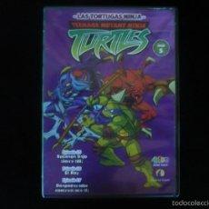 Cine: LAS TORTUGAS NINJA - DVD 5 TRES EPISODIOS DURACION 75 MINUTOS. Lote 56627357