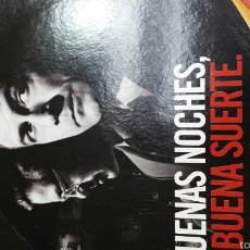 Cine: DVD BUENAS NOCHES Y BUENAS SUERTE . Lote 56634812