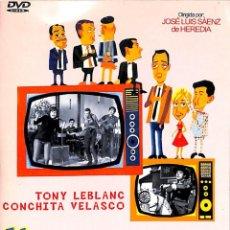 Cine: DVD HISTORIAS DE LA TELEVISION TONY LEBLANC - CONCHA VELASCO. Lote 56648136