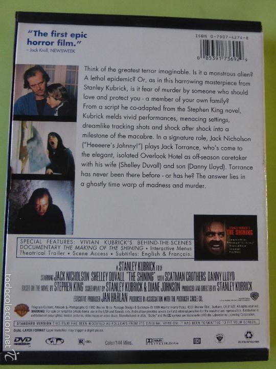 Cine: The Shining - el resplandor - Stanley Kubrick - VERSIÓN INGLES - Foto 3 - 56662680