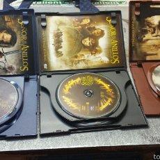 Cine: DVD TRILOGÍA EL SEÑOR DE LOS ANILLOS ESPECIAL COLECCION. Lote 56748457