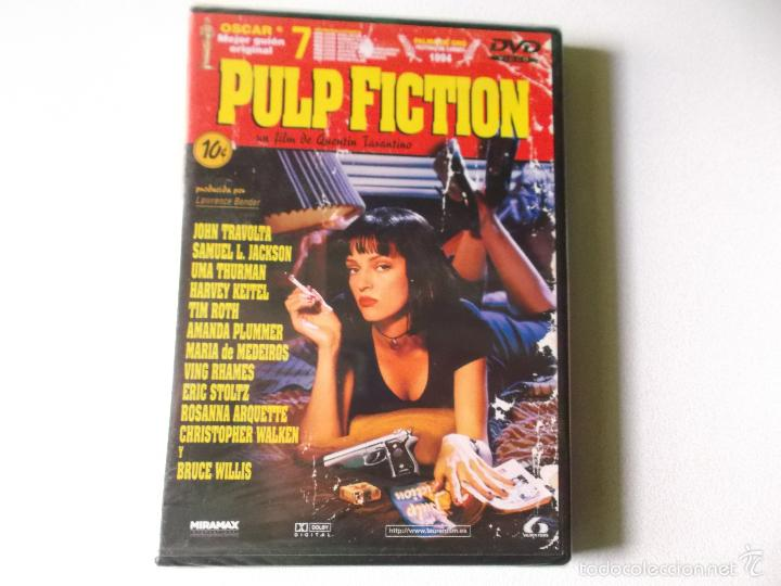 PULP FICTION DVD PRECINTADO - 148 MINUTOS PELICULA (Cine - Películas - DVD)