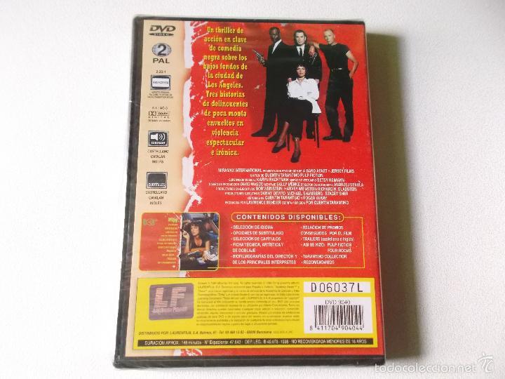 Cine: PULP FICTION DVD PRECINTADO - 148 MINUTOS PELICULA - Foto 2 - 56769515