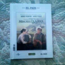Cine: DVD MEMORIAS DE AFRICA, DE SYDNEY POLLACK, CON R. REDFORD Y MERYL STREEP (DISCO + LIBRO)(PRECINTADA). Lote 56820497