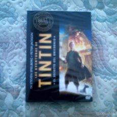 Cine: DVD LAS AVENTURAS DE TINTIN. EL SECRETO DEL UNICORNIO, DE PETER JACKSON (PRECINTADA). Lote 56820935