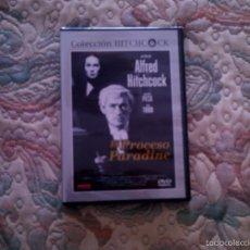 Cine: DVD EL PROCESO PARADINE, DE ALFRED HITCHCOCK, CON GREGORY PECK Y ANN TODD (PRECINTADA). Lote 56825324