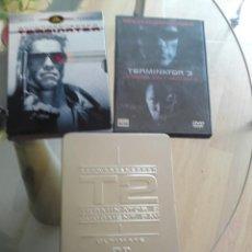 Cine: TRILOGIA TERMINATOR DVD EDICIONES ESPECIALES COLECCIONISTAS.. Lote 56829114