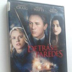 Cine: DETRÁS DE LAS PAREDES **DE JIM SHERIDAN CON DANIEL CRAIG, NAOMI WATTS, RACHEL WEISZ . Lote 56879956