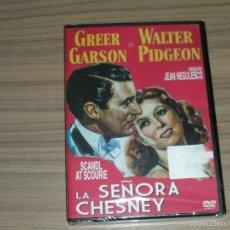 Cine: LA SEÑORA CHESNEY DVD GREER GARSON WALTER PIDGEON NUEVA PRECINTADA. Lote 183994773