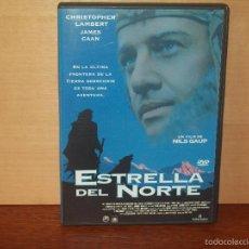 Cine: LA ESTRELLA DEL NORTE - CHRISTOPHER LAMBERT - JAMES CAAN - DIRIGIDA POR NILS GAUP - DVD. Lote 56915727
