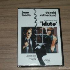 Cine: KLUTE DVD JANE FONDA DONALD SUTHERLAND NUEVA PRECINTADA. Lote 262480815