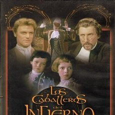 Cine: DVD LOS CABALLEROS DEL INFIERNO PETER CUSHING . Lote 56919970