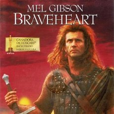 Cine: DVD BRAVEHEART MEL GIBSON (EDICIÓN 2 DISCOS). Lote 56921664