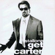 Cine: DVD GET CARTER SYLVESTER STALLONE . Lote 56922342