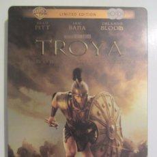 Cine: DVD TROYA EDICION ESPECIAL 2 DISCOS CAJA METALICA. Lote 56933465