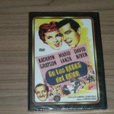 Cine: EN LAS REDES DEL AMOR DVD MARIO LANZA DAVID NIVEN KARTHYN GRAYSON NUEVA PRECINTADA. Lote 144205137